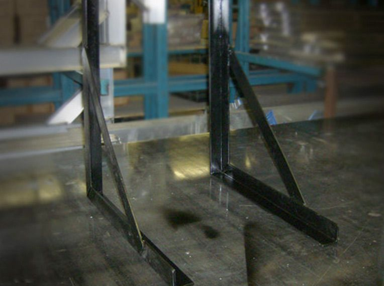 Square mounting brackets