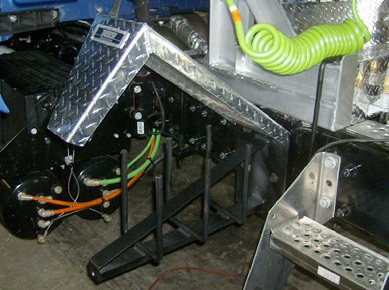 Trebor Tire chain racks