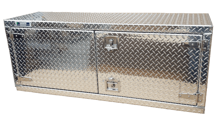 aluminum tool box for semi-truck