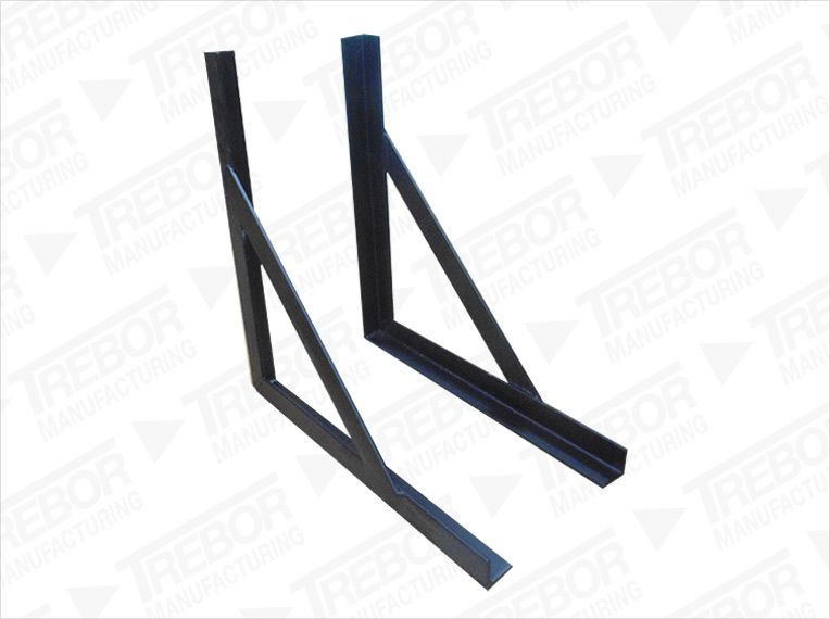 Square mounting braquets
