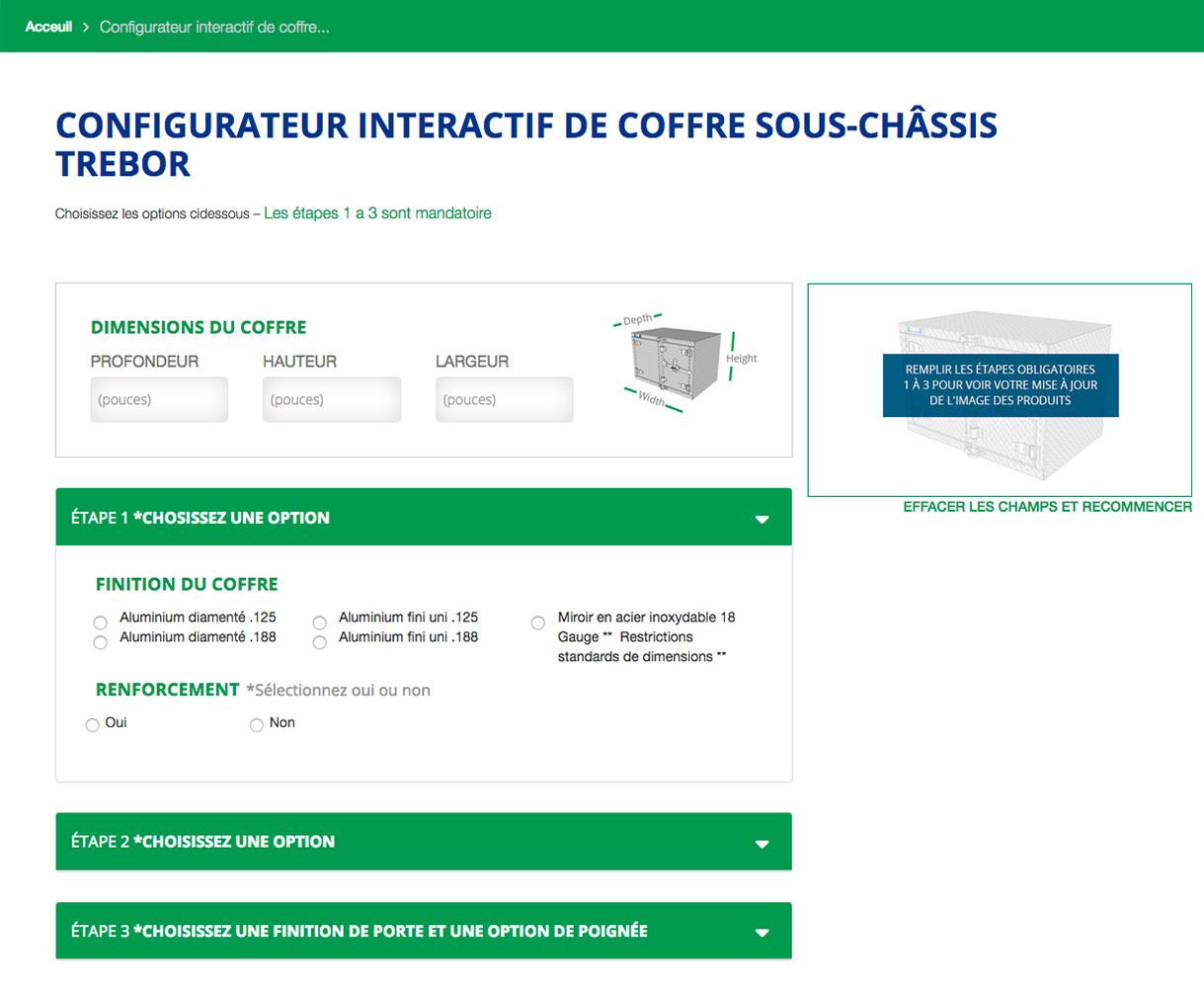CONFIGURATEUR INTERACTIF