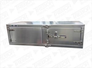 Underbody tool box plain finish T handle