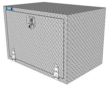 Semi Truck Custom Aluminum Tool Boxes Trebor Manufacturing