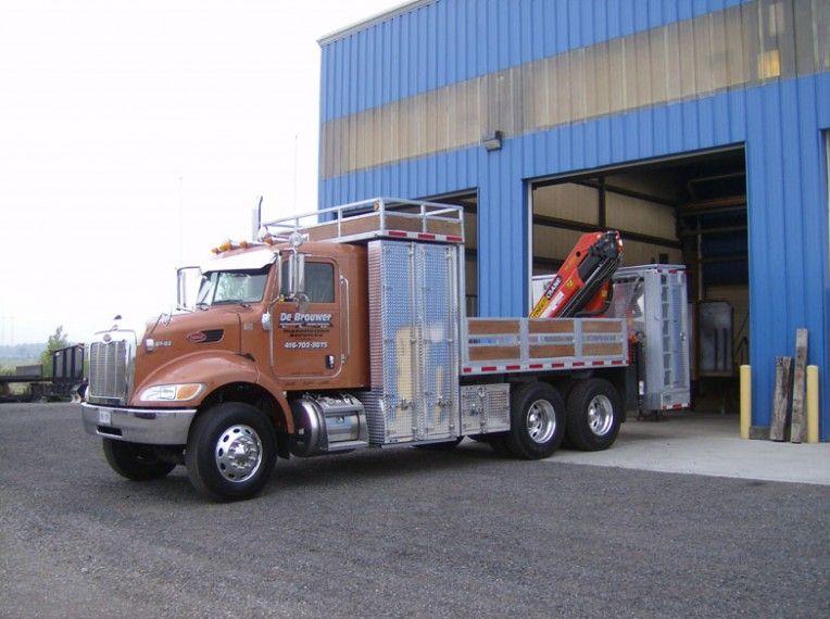 Custom Tool Box on truck