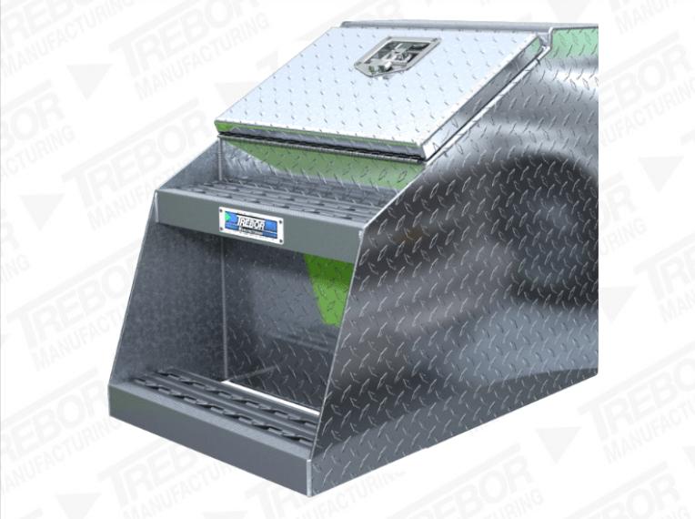Step Tool Box For Semi Trucks Trebor Manufacturing