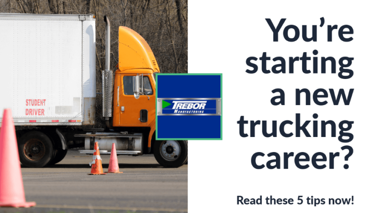 Five tips for a new truck driver