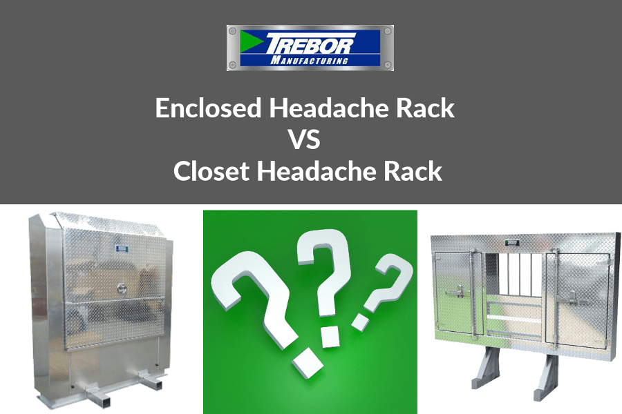 Enclosed headache rack vs closet headache rack: the 3 main differences