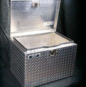 open aluminum tool box from Trebor