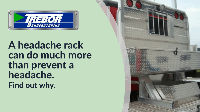 What is a headache rack?