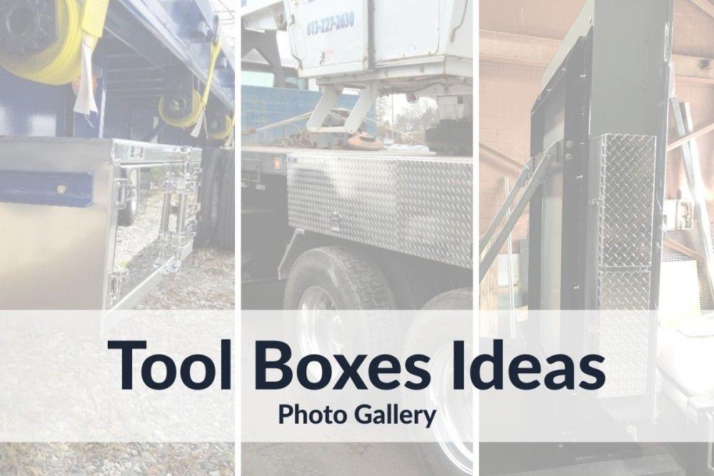 Custom Aluminium Tool Boxes Ideas : Photo Gallery
